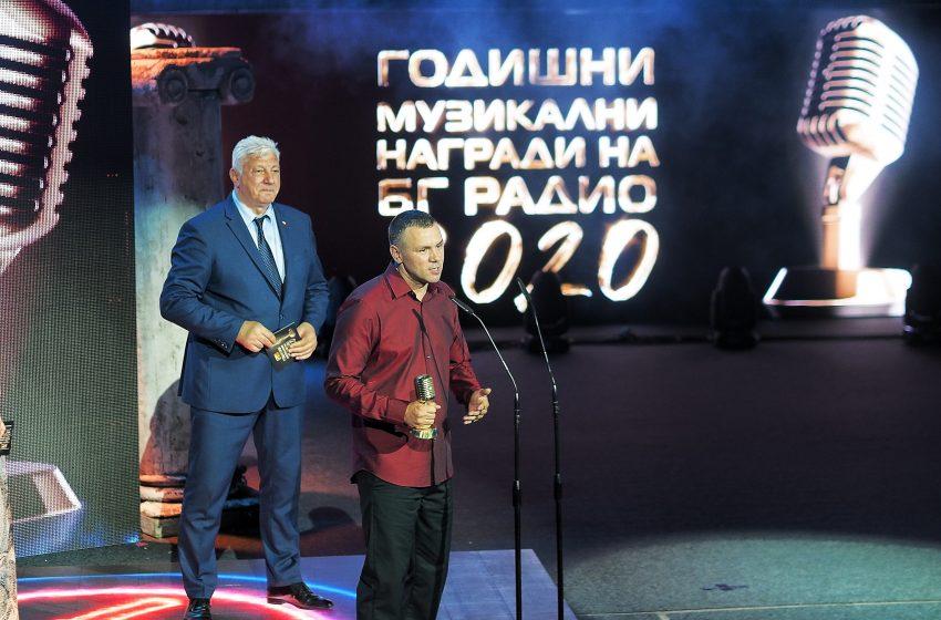 Ицо Хазарта слезе от сцената на БГ Радио с 3 статуетки