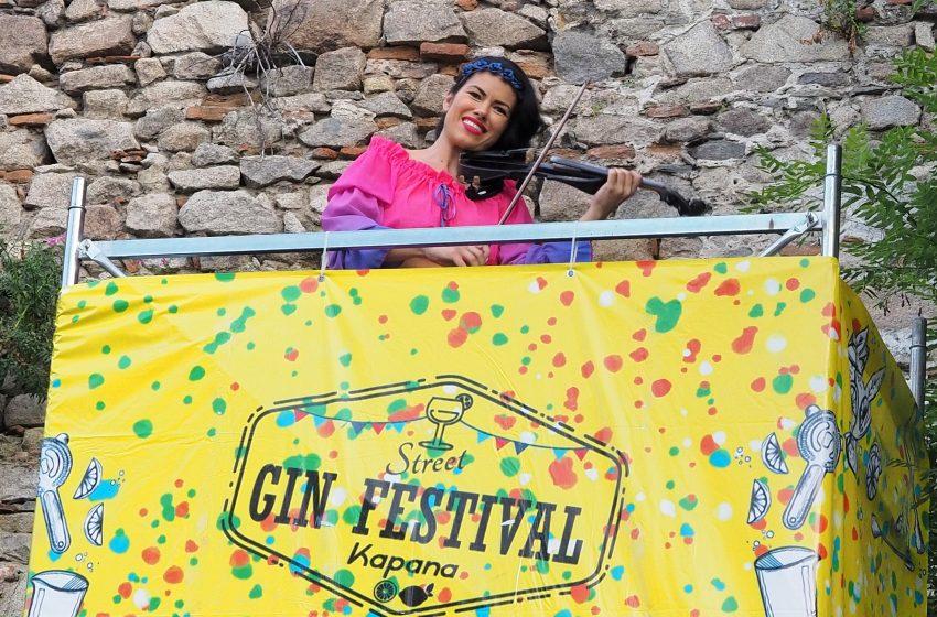 Таня Тингарова откри Street Gin Festival в Пловдив